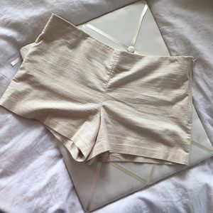 NWOT Ann Taylor Loft Beige Shorts